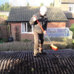 Sweeping The Roof