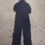 Me & my shadow!