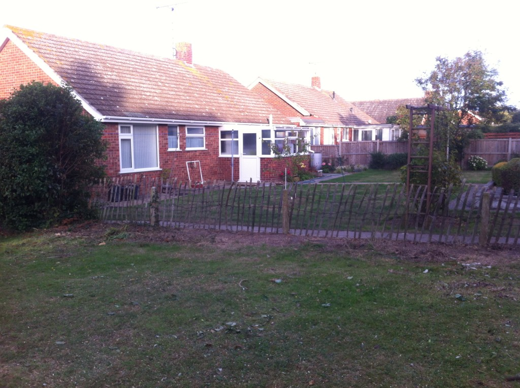 AFTER - No Leylandii Hedge!! Dismantled To The Ground - Sept '13