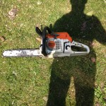 Me & my chainsaw!
