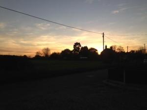 Sunset In Hindolveston