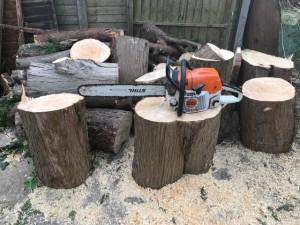 Stihl MS362 Top Chainsaw